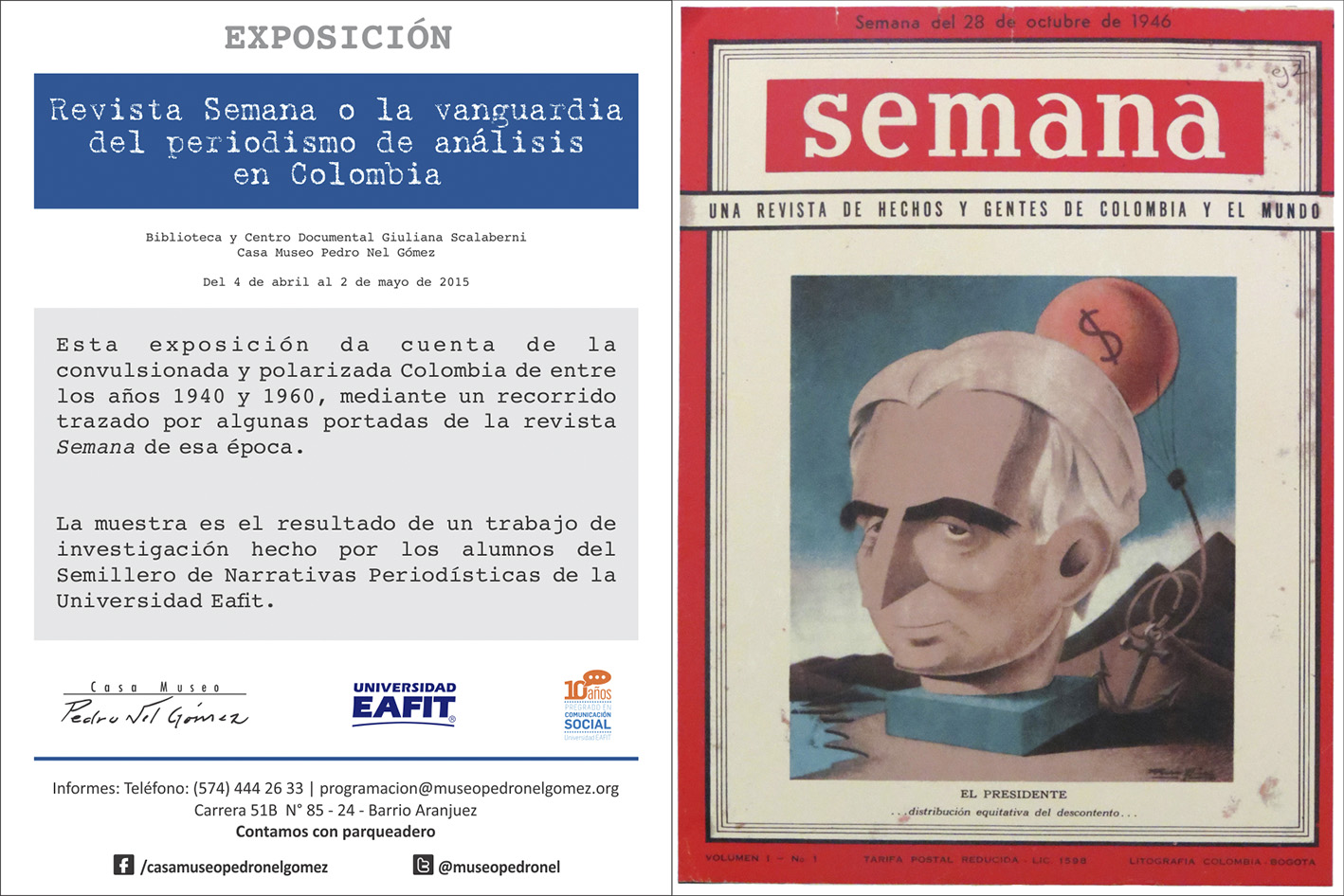 Exposición Revista Semana